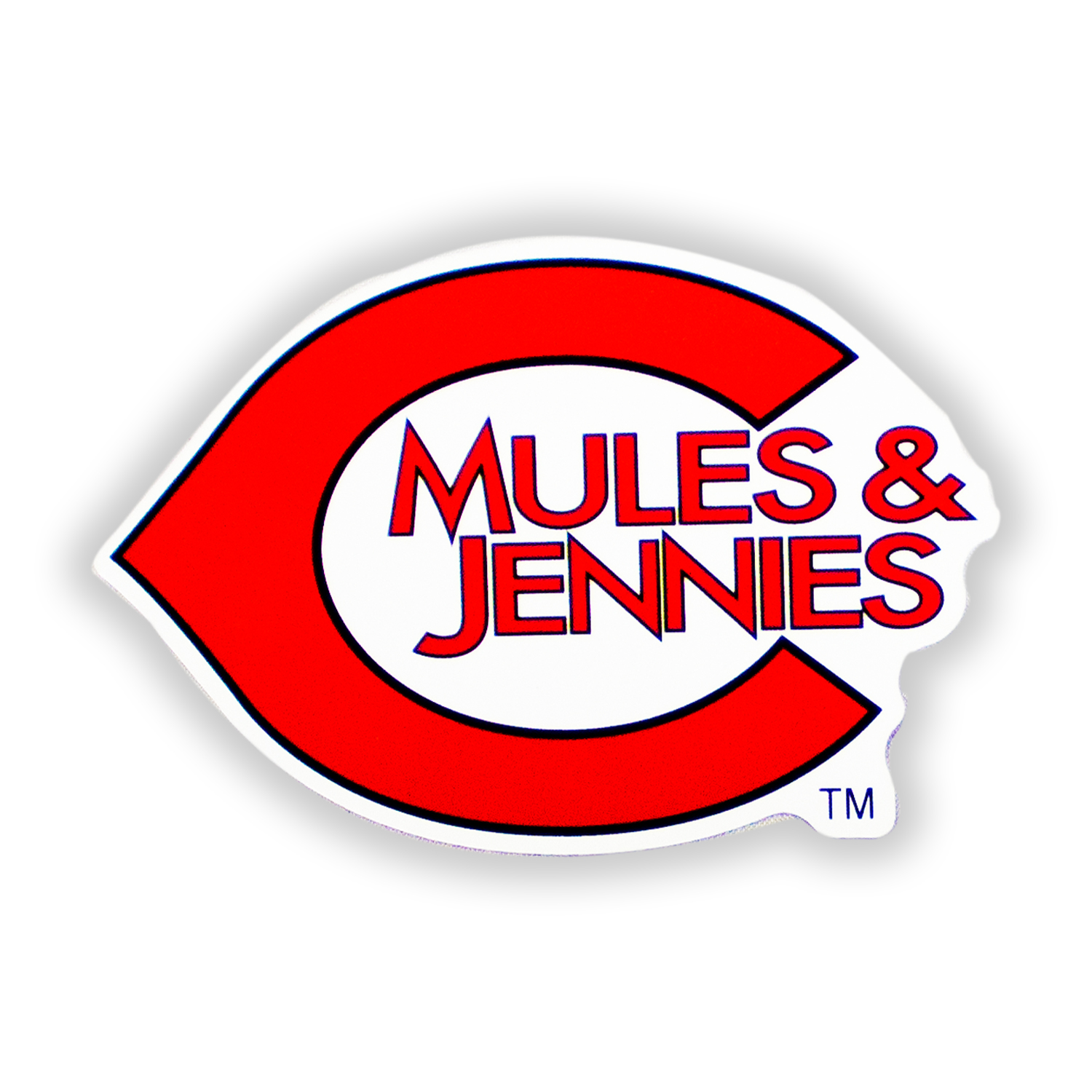 Image For C MULES & JENNIES DECAL