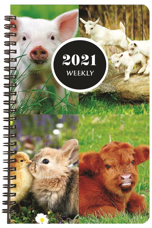 Image For Animals Weekly Planner