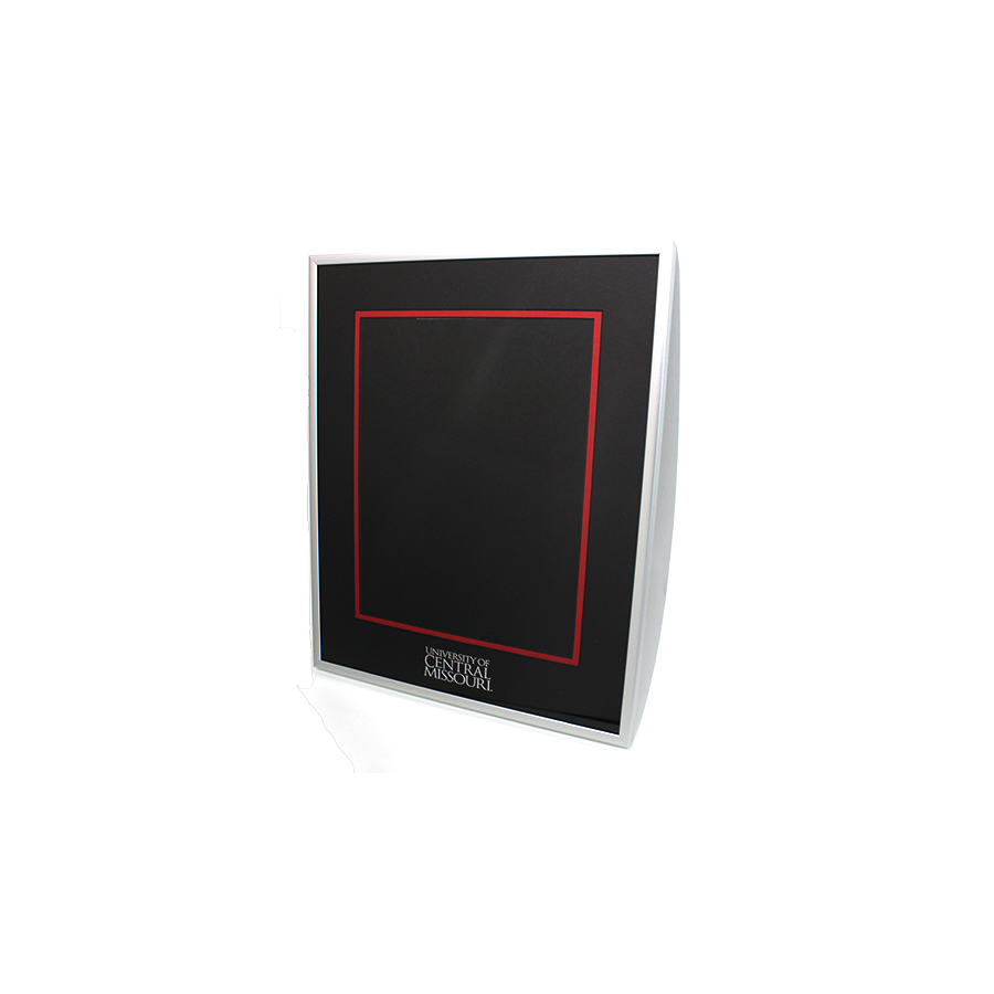 Image For Diploma Frame- Frosted Silver