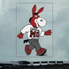Cover Image for MO THE MULE STATIC DECAL